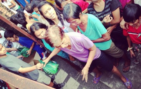 Liam Jocson helps the needy in the Philippines.