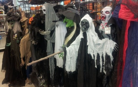 Halloween decorations at Didddam's to heighten this  year's scare