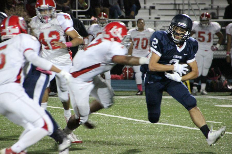 Varsity football emerges victorious