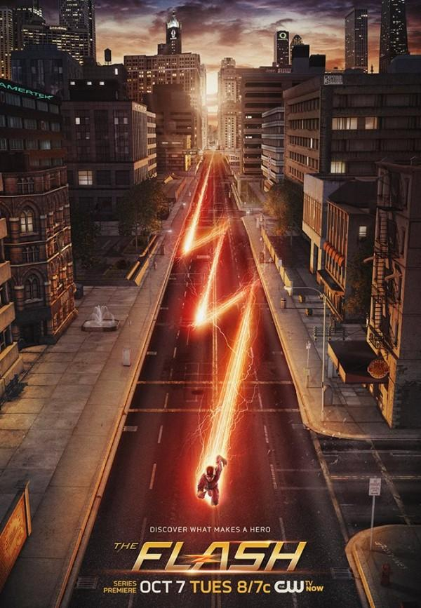 Grant Gustin is The Flash in this hit new series.
