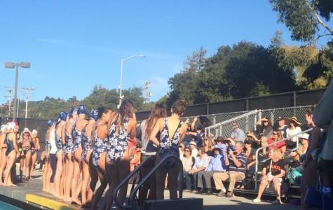 Girls varsity water polo says goodbye to their seniors.