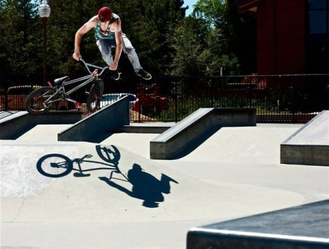 Cunningham pursues BMX riding