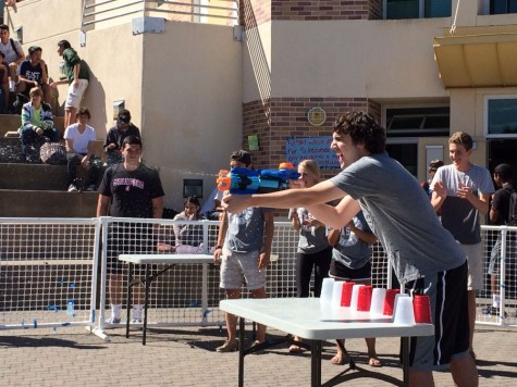 Students across campus compete for the cup