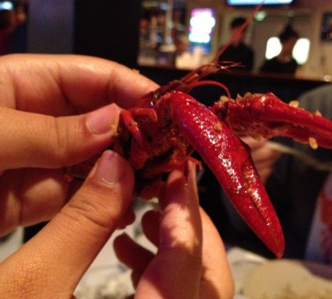 Red Crawfish — good food, but avoid the crawfish
