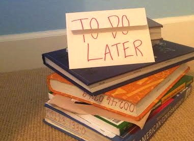 Do students procrastinate because of too much homework?