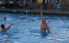 Sophomore Daniel Zorb attempting to intercept a pass by an MA player.
