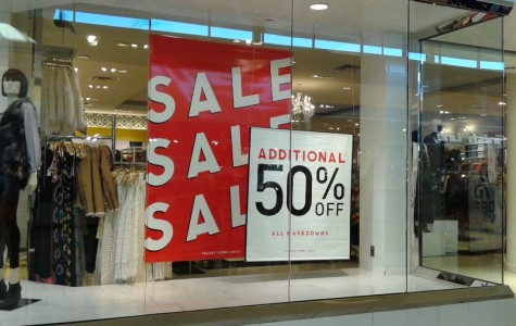 Forever 21, one of many stores offered deals for Black Friday.