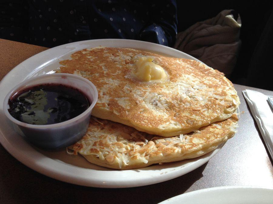 Breakers has the best pancakes in the bay area!