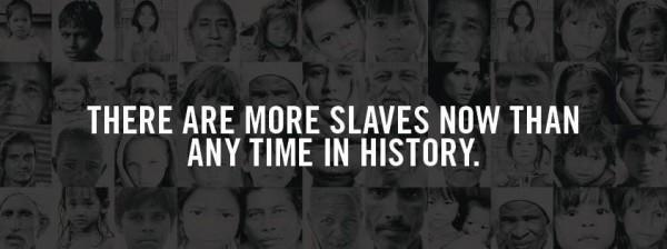 Slavery still prevalent in modern-day society