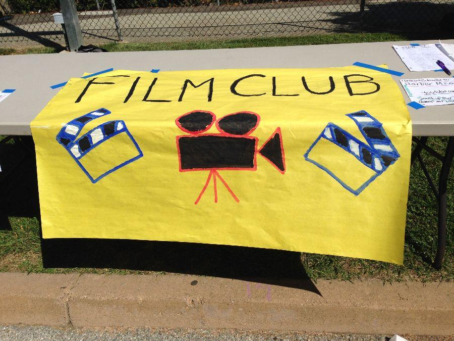 Film Club at the course fair
