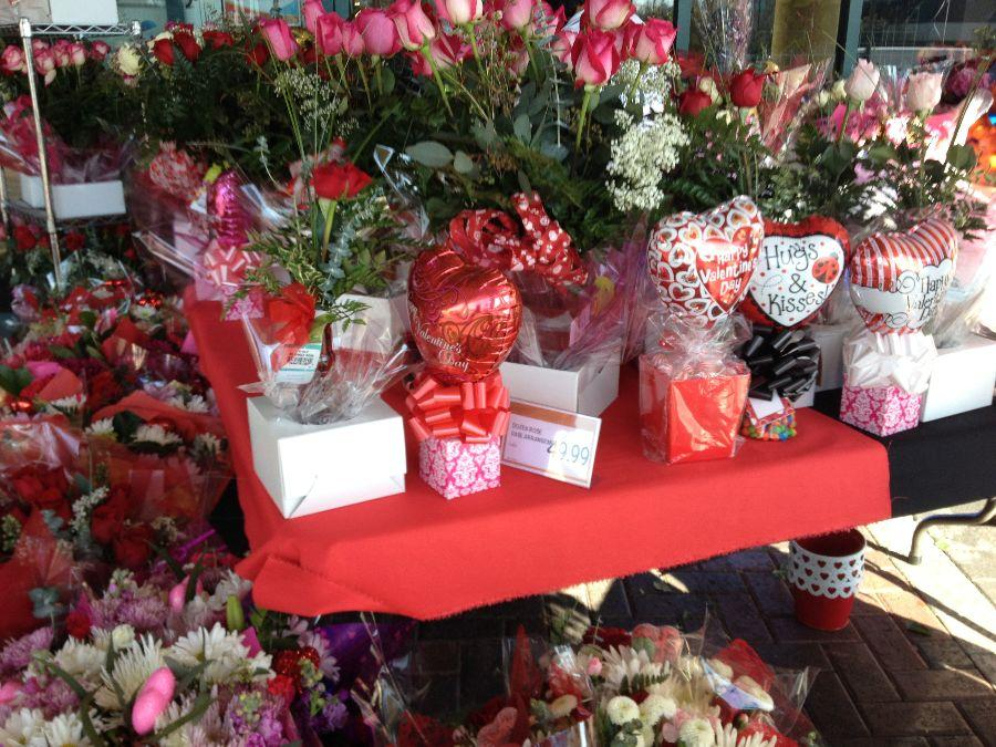 Approximately 196 million roses are sold each Valentine's Day.