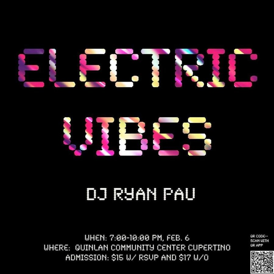 The+Electric+Vibes+mixer+is+an+event+open+to+all+high+schoolers+that+will+feature+DJ+Ryan+Pau.