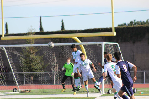 Boys varsity soccer falls to homestead with a loss of 5-0.