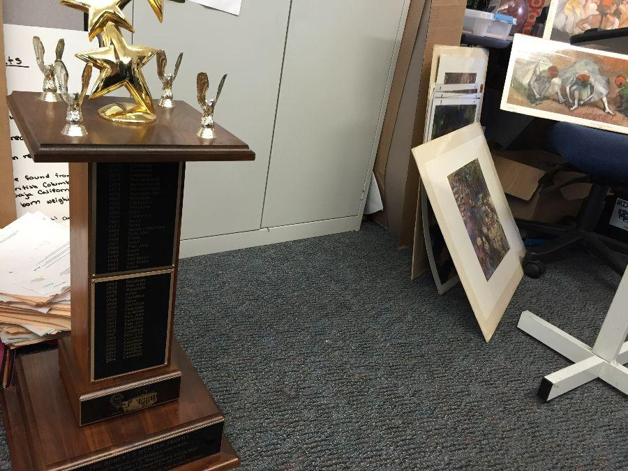 Carlmont's FOMF trophy will be kept after the win.