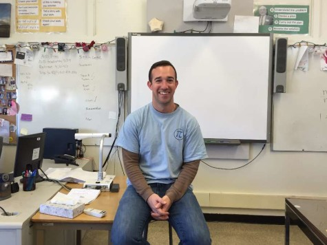 English teacher inspired by his family