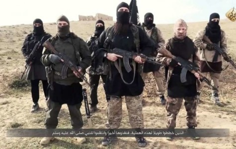 ISIS fighters deliver a message to Francois Hollande and to the French people.