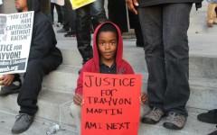 Justice for Trayvon Martin protest LA city hall, March 2012
