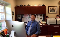 Ralph Crame prepares to be Carlmont's new principal