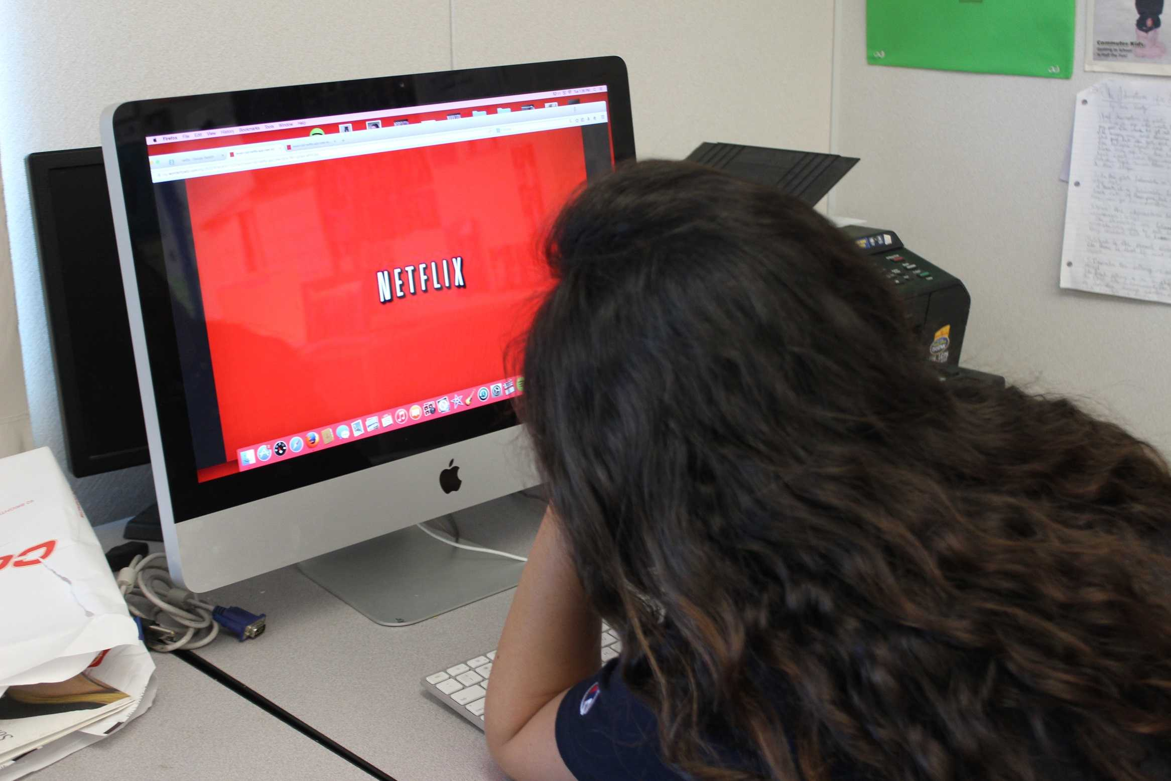 Netflix has won over the hearts of many students as a form of relaxation.