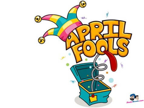 A world-wide April Fools' Day