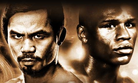 "Mayweather versus Pacquiao is said to be the ""fight"" of the century."