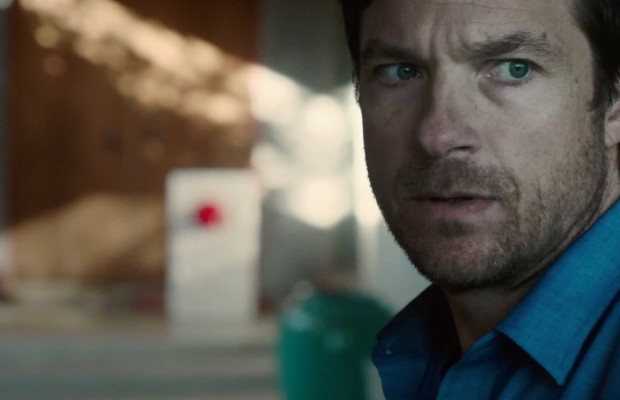 Paranoia runs rampant in this anxiety-charged film. Simon (Jason Bateman) fears an intrusion.