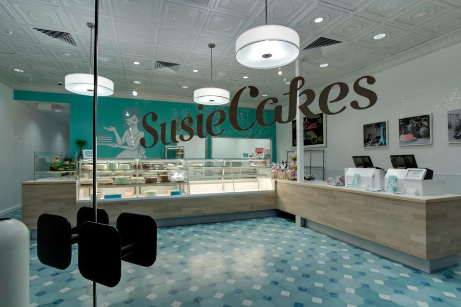 The+SusieCakes+store+is+clean+and+polished+before+customers+flood+in+to+taste+the+cakes.