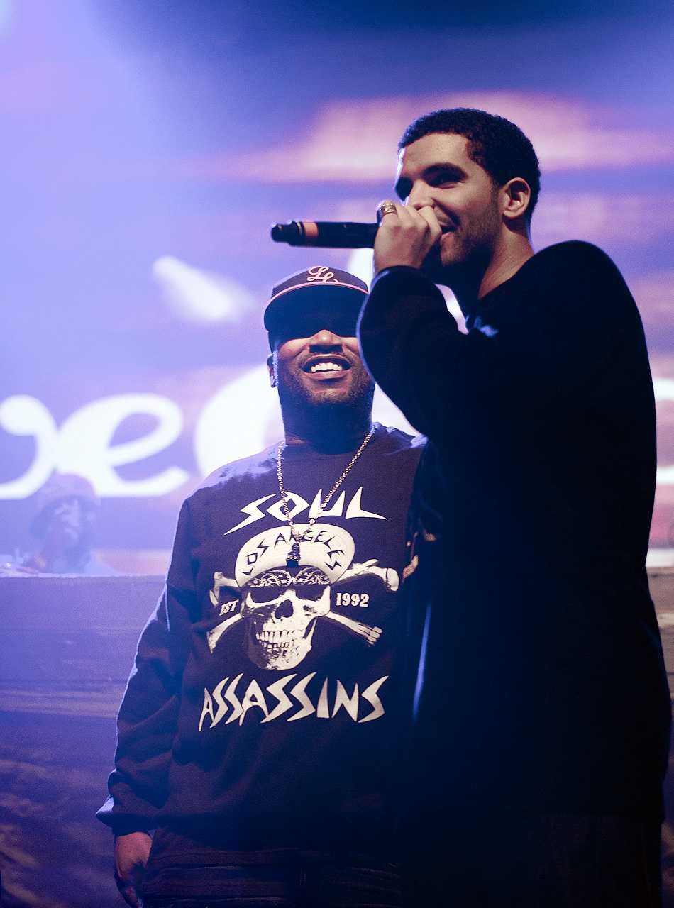 Drake performs in front of an enthusiatic crowd in Toronto, Canada, his home town.