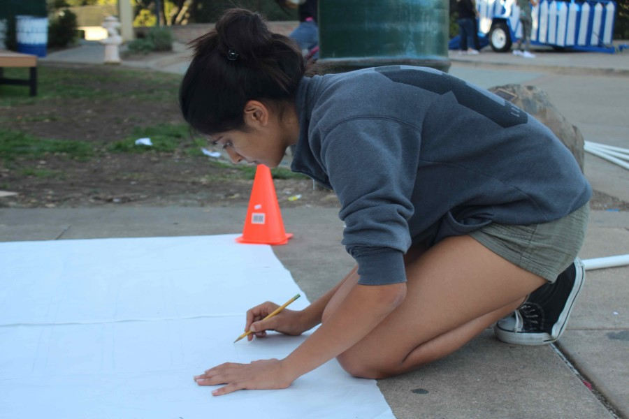 Junior Millan Kanaya sketches out what the house for