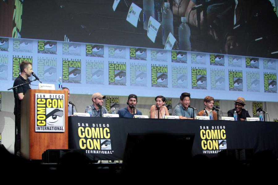 The+cast+of+%22The+Scorch+Trials%22+promotes+the+film+at+ComicCon.