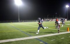 Senior Shanil Patel ran with an interception to score a touchdown.