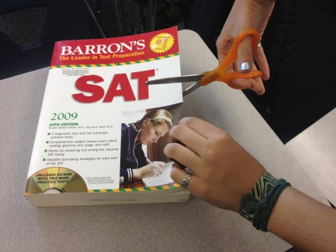 Out with the old and in with the new. In March 2016, the new SAT will be implemented.
