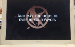 Members of the Assembly Commission of ASB created a presentation about the Hunger Games to show to competitors.