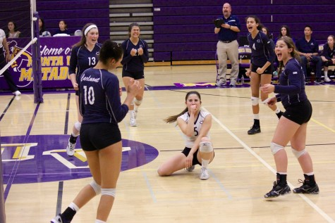 Varsity serves a win in quarterfinals