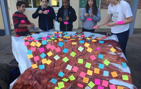 Students and staff give thanks together