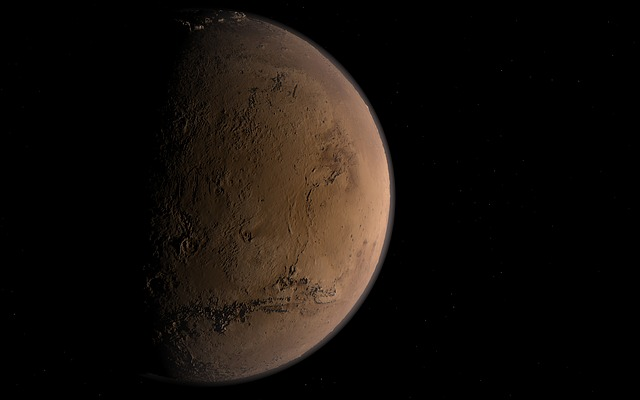 The NASA MAVEN mission was intended to study Mars' atmosphere. Mars was photographed with the Hubble Telescope.