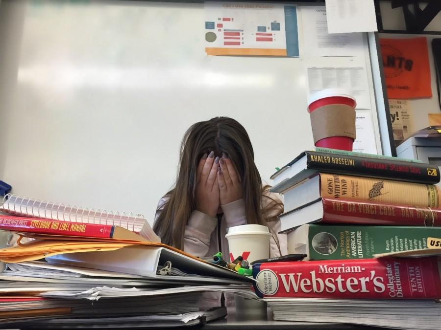 Students with heavy course loads feel pressured to stay on top of their assignments.