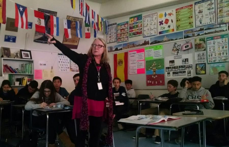 Language teacher Roberta Scott's passion for her job may lead some of her students to discover their own passion in foreign languages.
