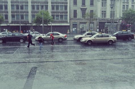 Rainy weather causes numerous accidents