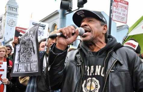 Super Bowl City policies spark 'Tackle Homelessness' protest