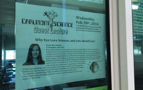 Carlmont offers students lectures on different scientific topics throughout the semester.