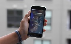 In iOS 9, Apple's operating system, users can opt to have a six digit passcode instead of four digits. This provides more security because instead of the original 10,000 combinations, there are 1,000,000.