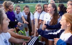 Varsity girls soccer ends season with a strong win on Senior Night