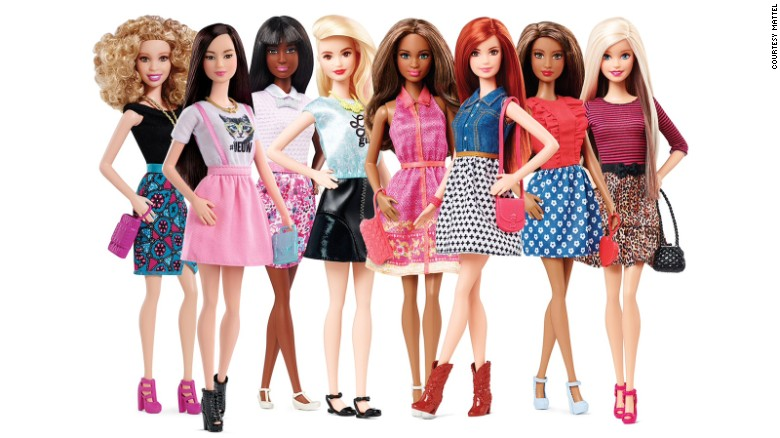 Mattel+is+releasing+new+types+of+Barbies+this+year.