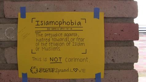 ScotCenter: Carlmont Combats Islamophobia - Elena Mateus
