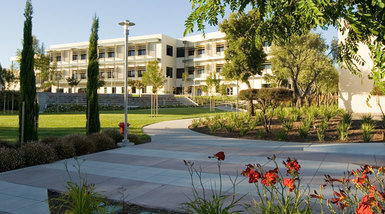 Cañada College is home to both high schoolers and college students.