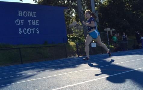 A mock meet motivates the track team