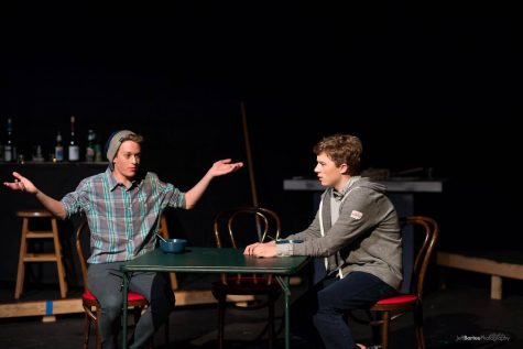 Max (Eli Melmon) and Mo (Sebastian Golden) riddle over life's mysteries.