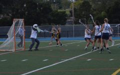 Varsity girls lacrosse fights to the finish