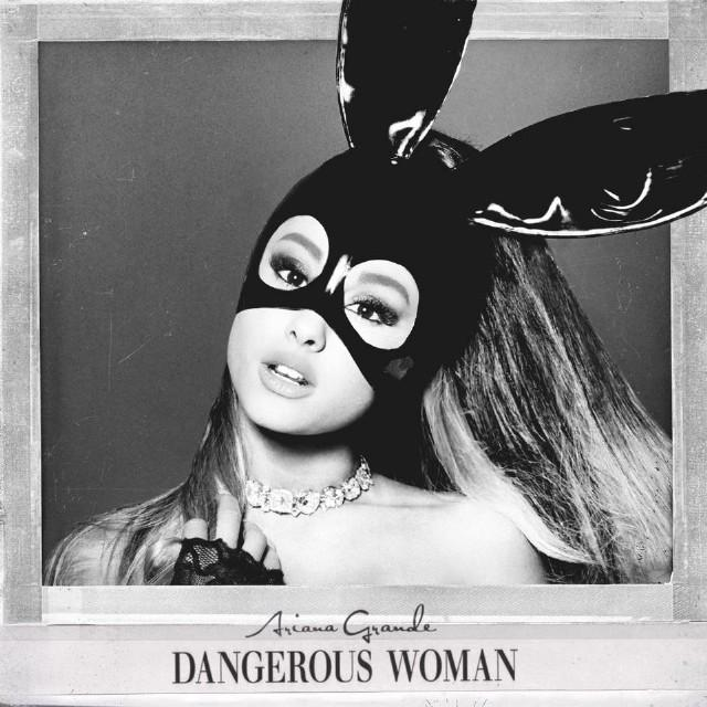 Ariana+Grande+looks+like+a+Marvel+hero+character+with+her+bunny+ears+on+the+cover+of+her+recent+album%2C+%22Dangerous+Woman.%22